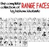 Memes Range Faces Brushes Set