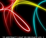 Abstract Light Free Photoshop Brush