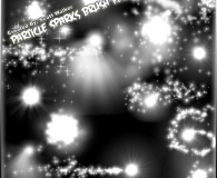 Particle Sparks Brush Set