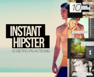 Instant Hipster - 10 Retro Actions