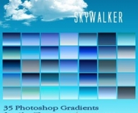Skywalker Photoshop Gradients