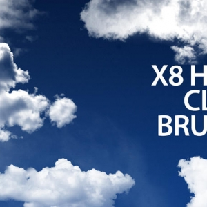 High Resolution Cloud Brushes