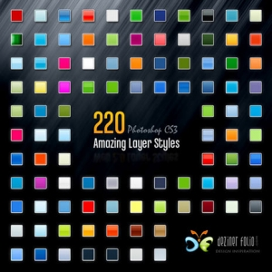 220 Free Photoshop Layer Styles