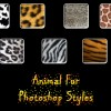 Animal Fur Photoshop Style