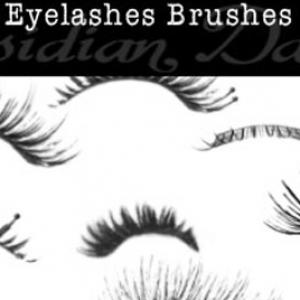 Eyelashes Brushes Photoshop Brushes - Free Brushes,Textures, PSDs ...