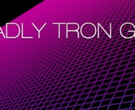 50 Deadly Tron Grids Photoshop Brushes