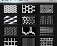 Metal Mesh Pattern Photoshop
