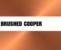 Brushed Cooper Metal Texture