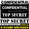 Confidential Stamp Ps Brushes