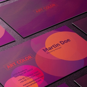 Business Card PSD File