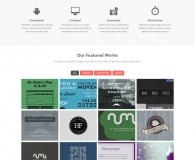Responsive Web Templates PSD Files