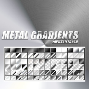 Metal Gradients for Photoshop