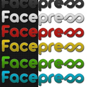 Facepress Variegated photoshop style