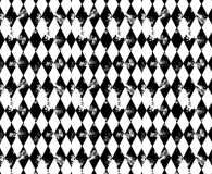 Distressed seamless diamond pattern