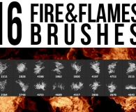 Conflagration and fire brushes