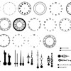 Clock kit brushes