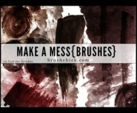 Dirty funny brushes