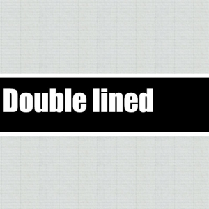 Double lined pattern
