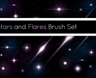 Stars And Flares Brush Set