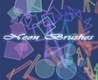 colored light brushes