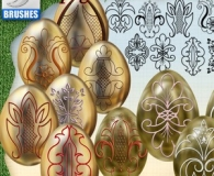 Easter Ornaments for Eggs