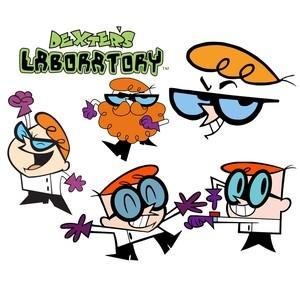 Dexter cartoon brushes Photoshop Brushes - Free Brushes