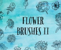 Charming Flower Brushes 2