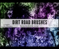 Dirt Road Brushes for Photoshop
