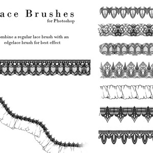 Lace Design Brushes