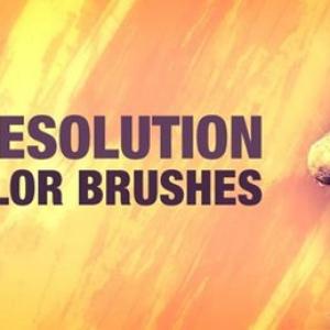 Nice Watercolor Brushes Photoshop Brushes - Free Brushes
