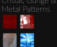 Cristal, Gunge & Metal patterns