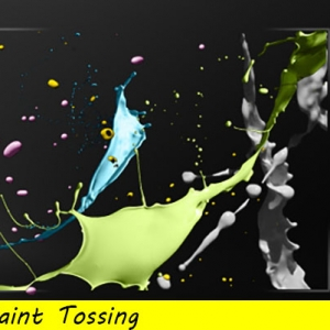 12 Paint Tossing