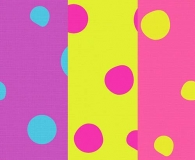 Free Dots on Canvas Cartoon Photoshop Patterns