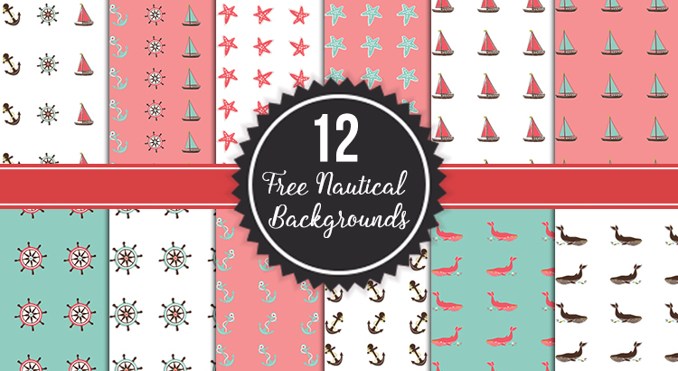 12 free nautical backgrounds